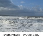 Waves Of The Coast Of...
