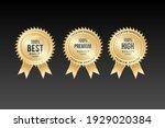 100  best quality gold medal... | Shutterstock .eps vector #1929020384
