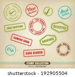 vector collection of various... | Shutterstock .eps vector #192905504