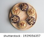 Chocolate Banana Muffins With...