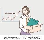 businessman sad unemployed ...   Shutterstock .eps vector #1929065267