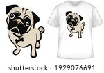 ruff patch rescue mascot t... | Shutterstock .eps vector #1929076691