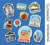 Ten Travel Set Monuments...