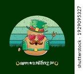 happy saint patricks day... | Shutterstock .eps vector #1929095327