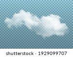cloud in sky on blue... | Shutterstock .eps vector #1929099707