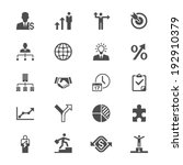 business flat icons | Shutterstock .eps vector #192910379