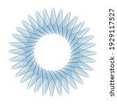 vector guilloche elements for...   Shutterstock .eps vector #1929117527