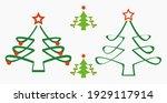 christmas tree. christmas. new...   Shutterstock .eps vector #1929117914