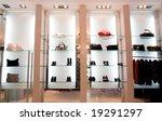 boutique interior | Shutterstock . vector #19291297