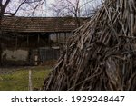 Rustic Old Barn Full Of Hay....