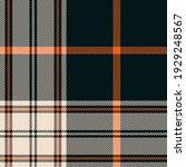 tartan plaid pattern menswear...   Shutterstock .eps vector #1929248567