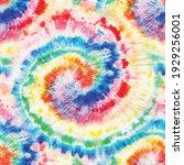 vector tie dye swirl. seamless... | Shutterstock .eps vector #1929256001