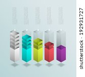 business infographics graph...   Shutterstock .eps vector #192931727