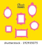 set of classic frames... | Shutterstock .eps vector #192935075