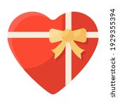 wrapped gift vector style ...   Shutterstock .eps vector #1929355394
