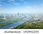 Vienna Skyline With Danube...