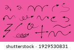 different types of hand drawn...   Shutterstock .eps vector #1929530831