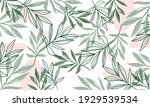 nature flowers and leaves... | Shutterstock .eps vector #1929539534