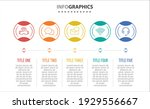 vector infographic design with...   Shutterstock .eps vector #1929556667
