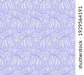 paisley oriental seamless... | Shutterstock .eps vector #1929564191