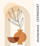 abstract boho illustration with ...   Shutterstock .eps vector #1929603287