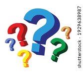 question symbol 1 vector design....   Shutterstock .eps vector #1929638987