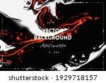 fluid art texture. background...   Shutterstock .eps vector #1929718157