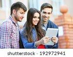 students near university  | Shutterstock . vector #192972941