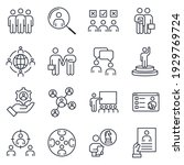 set of business people icon....   Shutterstock .eps vector #1929769724