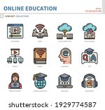 online education and learning... | Shutterstock .eps vector #1929774587