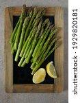 Fresh Green Asparagus On...