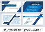 business presentation design...