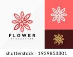 beauty flower jewellery logo... | Shutterstock .eps vector #1929853301