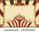horizontal grunge circus. a... | Shutterstock .eps vector #192993665