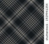 Abstract Plaid Pattern In Dark...
