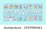 decluttering word concepts...