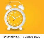 fun yellow and white alarm...   Shutterstock .eps vector #1930011527