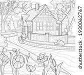 House By The River.coloring...