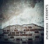 vintage brick wall texture | Shutterstock . vector #193008971
