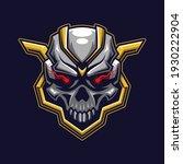 skull head logo gaming. devil... | Shutterstock .eps vector #1930222904