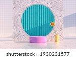 beauty fashion podium backdrop... | Shutterstock . vector #1930231577