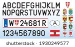 austria car license plate ...   Shutterstock .eps vector #1930249577