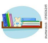 children's books and plush... | Shutterstock . vector #193026245