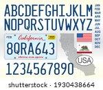 california state car license...   Shutterstock .eps vector #1930438664