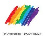 flag pride rainbow lgbt lesbian....   Shutterstock .eps vector #1930448324