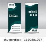 roll up banner design editable... | Shutterstock .eps vector #1930501037