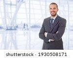 Happy Business Man Portrait At...