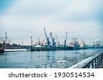 View On The Sea Port With...