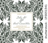 wedding invitation cards with... | Shutterstock . vector #193051541