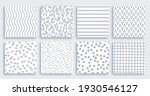 black and white patterns are...   Shutterstock .eps vector #1930546127